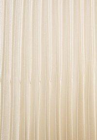 someday. - ONTI SHINE - Plisovaná sukně - ivory - 5