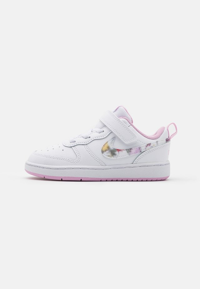 COURT BOROUGH 2  - Baskets basses - white/multicolor/light arctic pink