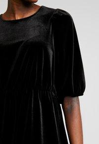 Monki - TIBBY DRESS - Robe d'été - black dark - 5