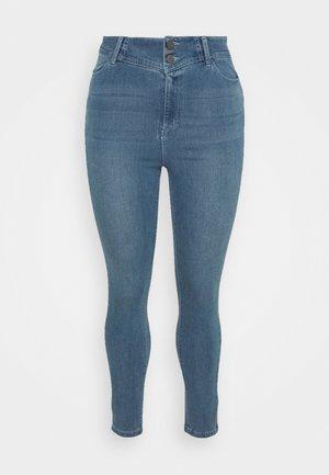 BOOTY SHAPER POWERSTRETCH - Jeans Skinny - vintage blue