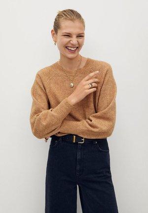 BROOME - Sweter - mittelbraun