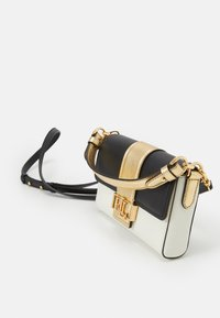 Lauren Ralph Lauren - SMOOTH SPENCER - Handbag - black/antique gold-coloured - 4