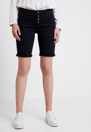 Denim shorts - navy denim