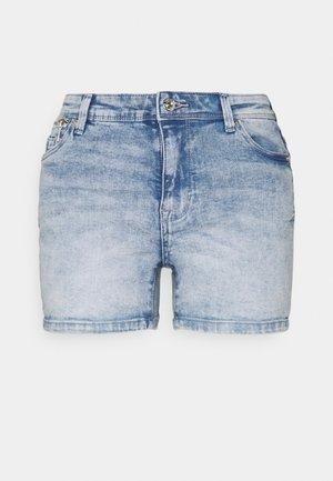 ONLISA LIFE ZIP - Jeansshort - light blue denim