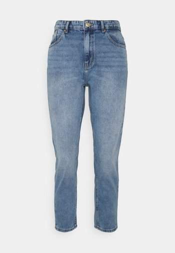 ONLKELLY LIFE MOM - Relaxed fit jeans - medium blue denim