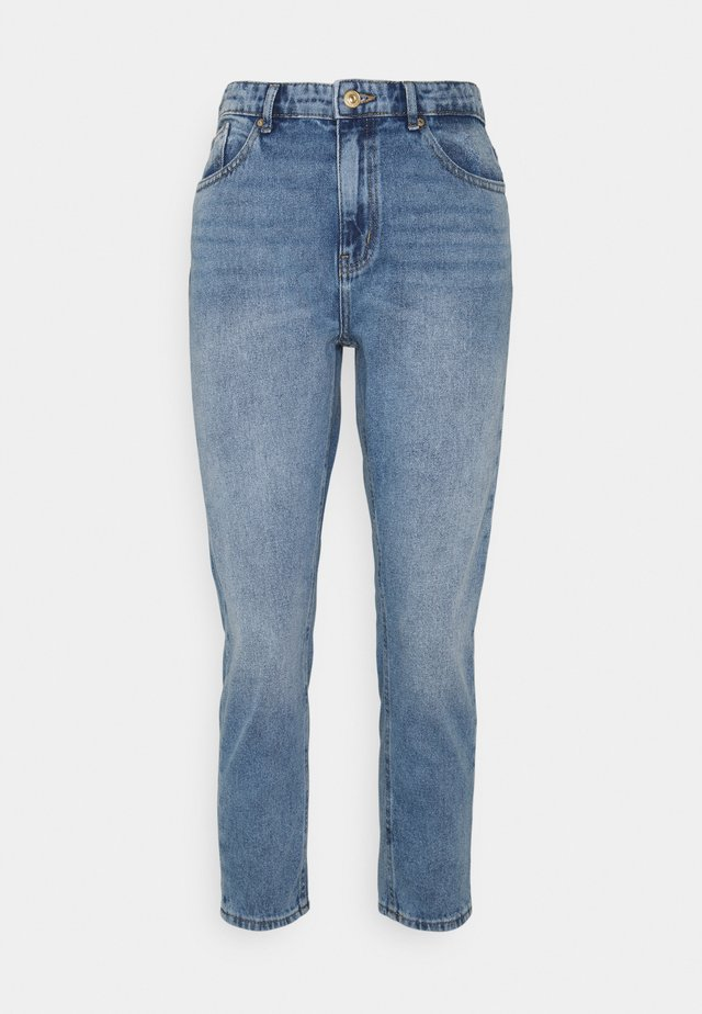 ONLKELLY LIFE MOM - Relaxed fit jeans - medium blue denim