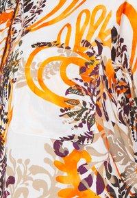 Emily van den Bergh - KLEID - Shirt dress - sand/black/orange - 2
