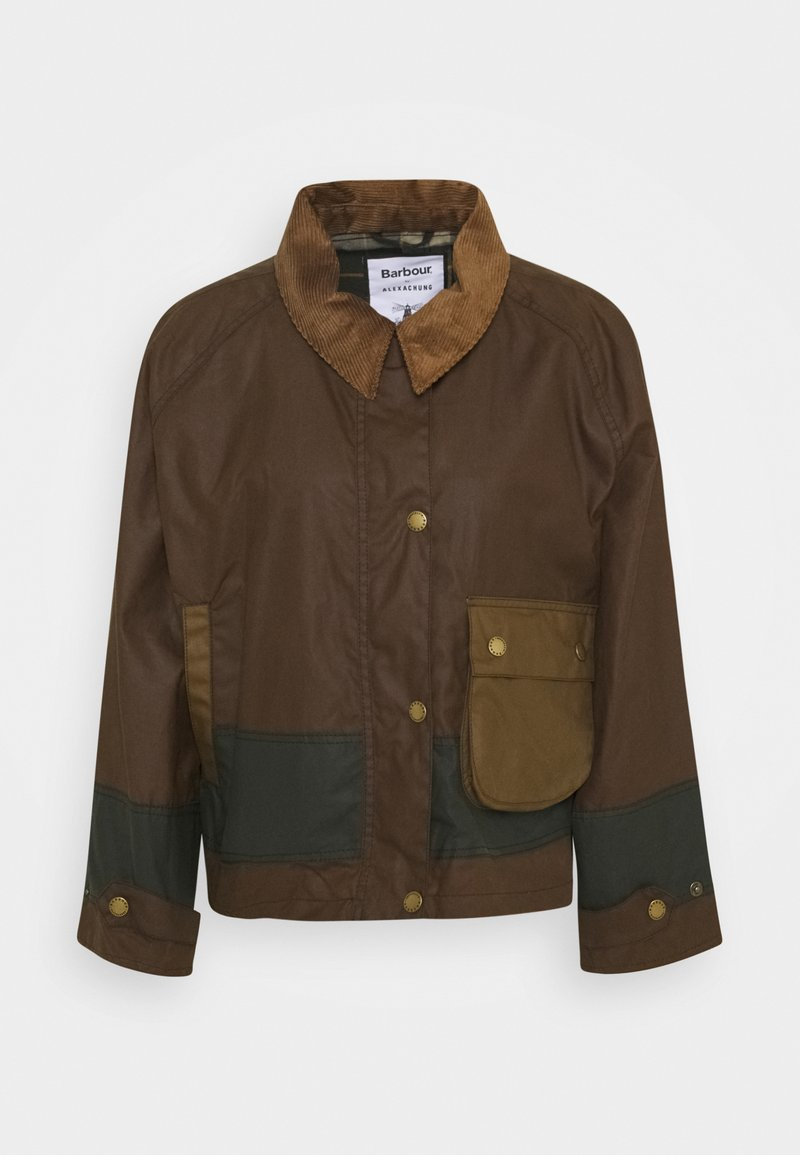 Barbour - ALEXA CHUNG PATRICIA WAX - Summer jacket - ancient