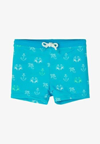 Swimming shorts - peacock blue