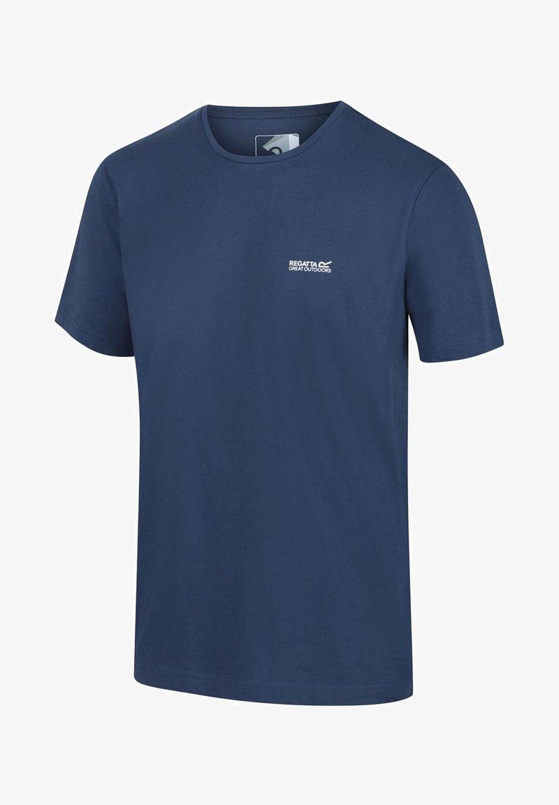Regatta - TAIT  - Basic T-shirt - dark denim