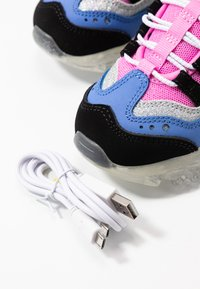 Skechers - ICE D'LITES - Trainers - black/purple/pink/silver - 5