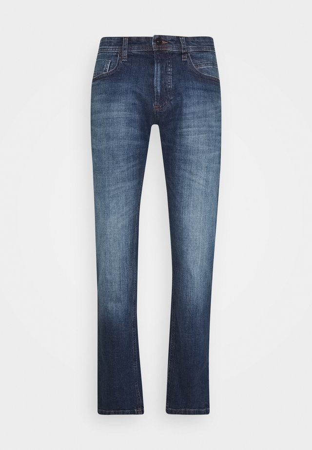 REGULAR - Straight leg jeans - midblue used