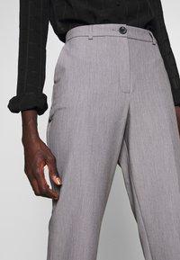 Dorothy Perkins Tall - ANKLE GRAZER - Pantaloni - grey marl - 4