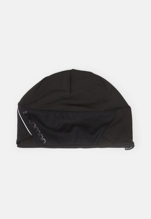 BEANIE - Gorro - black/black/shiny black