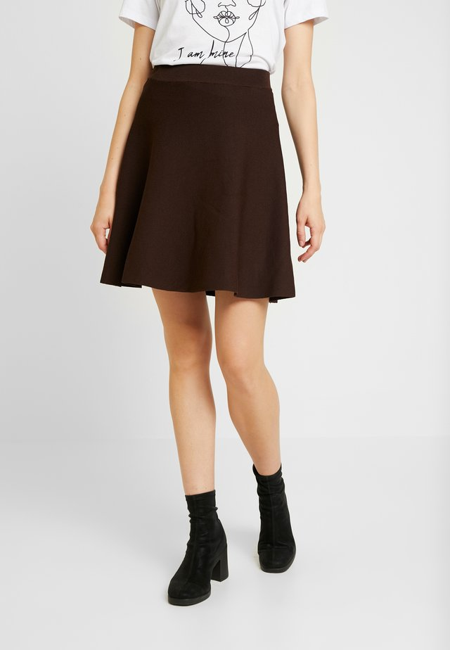 VIOSK SKIRT - A-line skirt - puce