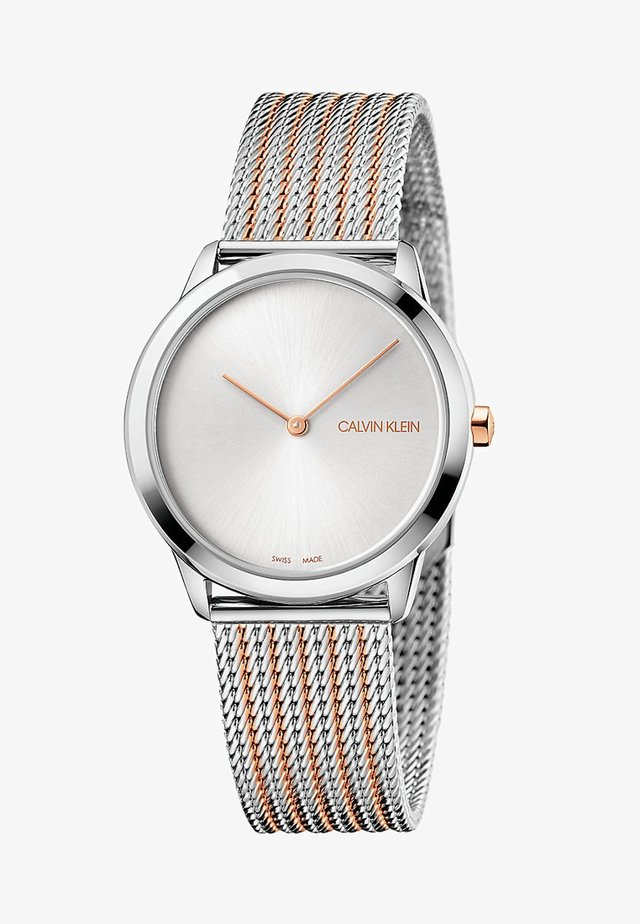 Watch - silver/rose gold