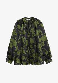 Mango - BICO - Button-down blouse - kaki - 5