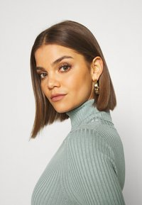 Even&Odd - BASIC- RIBBED TURTLE NECK - Jumper - light green - 3