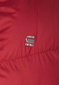 G-Star - WHISTLER VEST - Waistcoat - dry red - 3