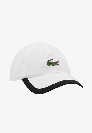TENNIS CAP - Kšiltovka - white/black