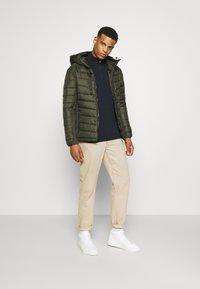 Burton Menswear London - CORE HALF ZIP - Jumper - navy - 1