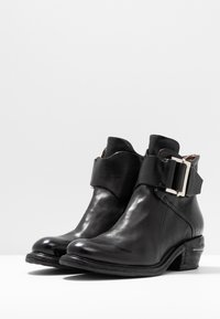 A.S.98 - Cowboy/biker ankle boot - nero - 4