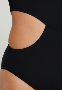 Seafolly - ACTIVE ONE SHOULDER MAILLOT - Swimsuit - black - 6