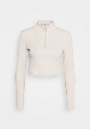 LADIES  - Long sleeved top - ecru