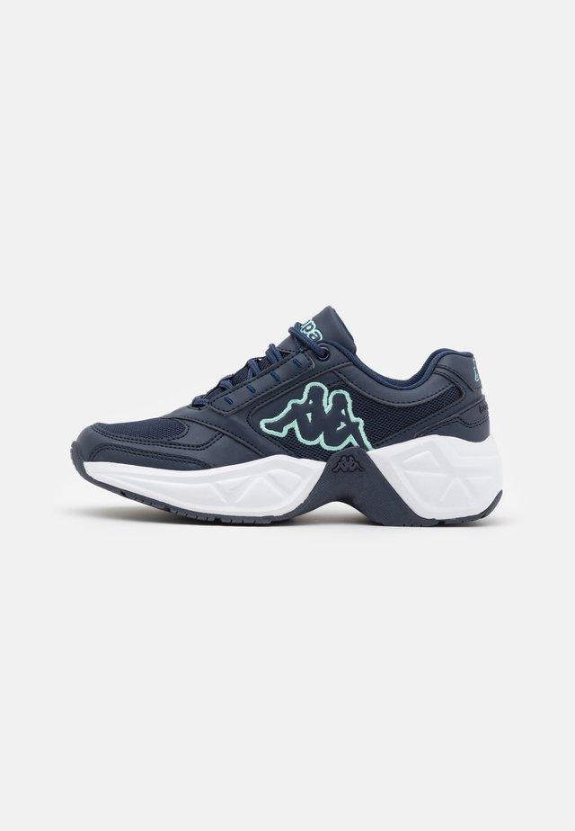 KRYPTON - Sportovní boty - navy/mint