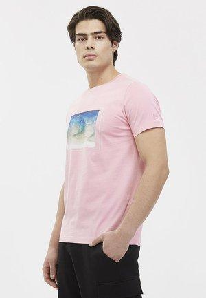 SEREIN - T-shirt print - peony