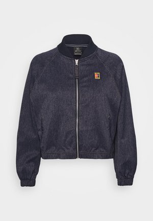Training jacket - obsidian/silver/wheat