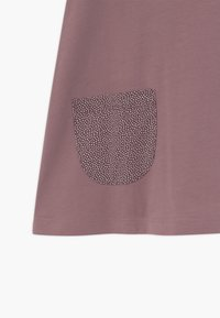 Lindex - MINI LONGSWEET PATCH - Žerzejové šaty - dusty lilac - 2