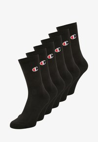 Champion - 6 PACK - Sports socks - black - 0