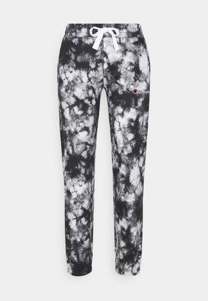 ELASTIC CUFF PANTS - Verryttelyhousut - white