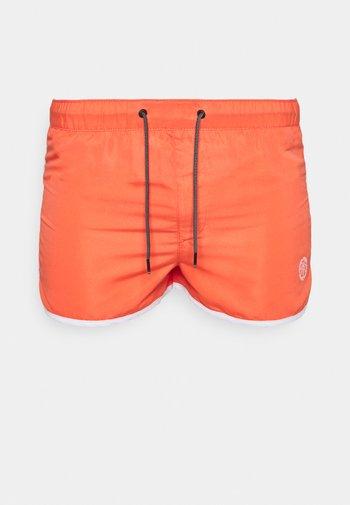JJIIBIZA JJSWIM SOLID - Swimming shorts - hot coral