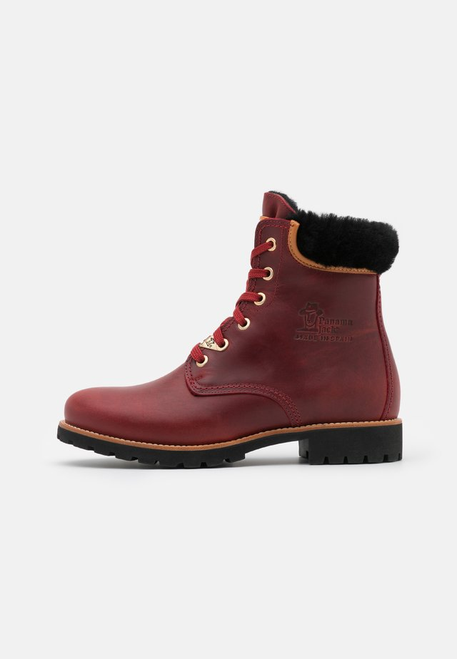 IGLOO TRAVELLING - Veterboots - burdeos/burgundy