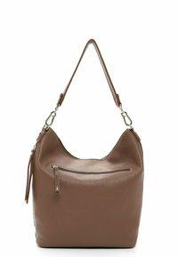 SURI FREY - BEUTEL KETTY - Handbag - darktaupe - 1