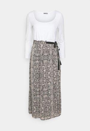 ABITO UNITA - Maxi dress - beige