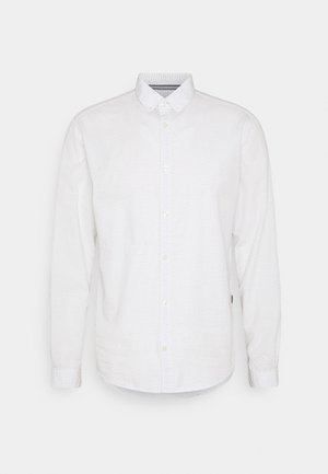 Shirt - off white/blue navy