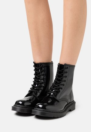 1460 MONO - Lace-up ankle boots - black