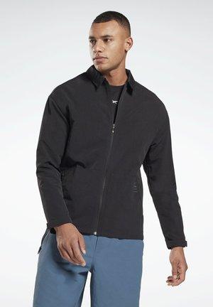 UTILITY TRACK TOP - Shirt - black