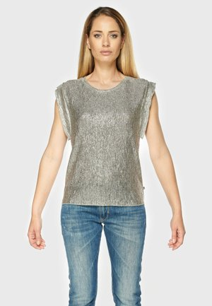 GAME - Blouse - silver