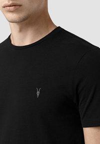 AllSaints - BRACE - Basic T-shirt - jet black - 2