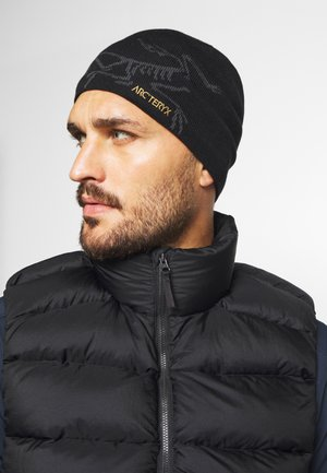 BIRD HEAD TOQUE - Bonnet - black