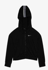 Nike Performance - HOODIE STUDIO - Felpa aperta - black/metallic silver - 0