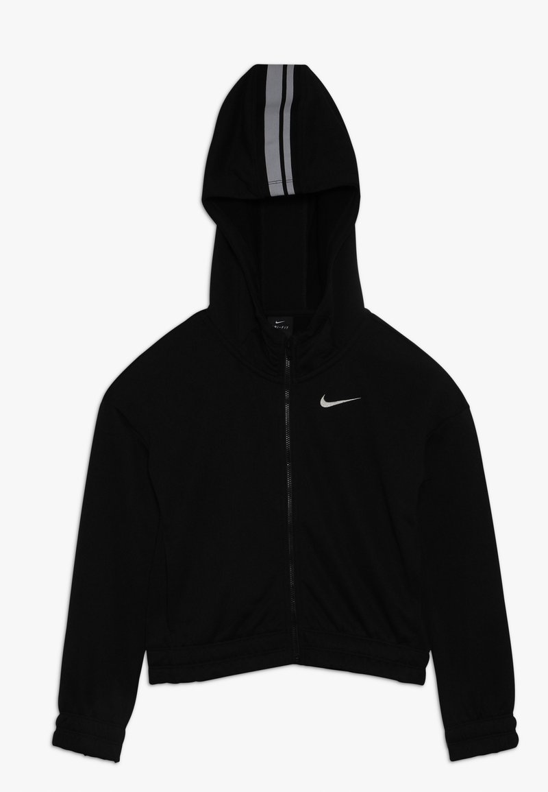 Nike Performance - HOODIE STUDIO - Felpa aperta - black/metallic silver