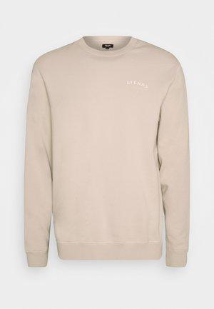 STEEL CREW NECK - Sweater - moonbeam