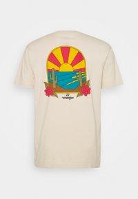 Billabong - SAGUARO - Print T-shirt - natural - 1