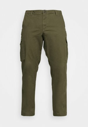 JJIROY JJJOE - Cargo trousers - forest night