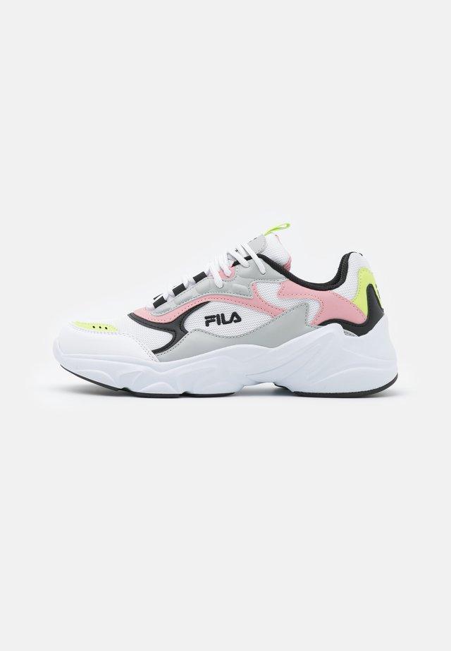 COLLENE - Sneakers basse - white/coral blush